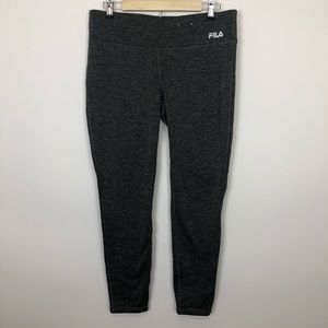 Fila Xl grey fleece lined running workout leggings
